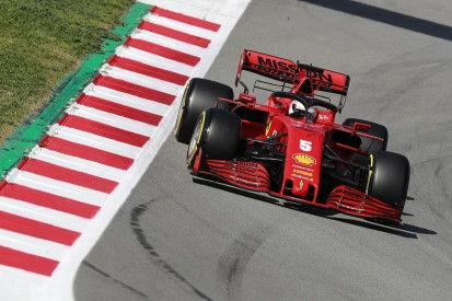 Barcelona F1 testing: Vettel puts Ferrari on top for first time