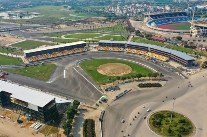 Hanoi track works completed ahead of inaugural Vietnam GP