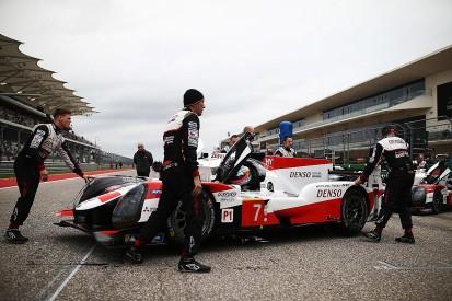 "Toyota's Kobayashi slams WEC LMP1 handicaps after ""joke"" Austin race"