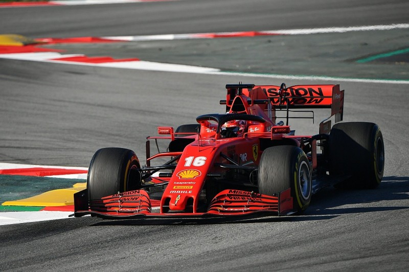 Binotto concedes Ferrari behind Mercedes and Red Bull in F1 testing