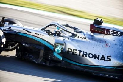 Barcelona F1 testing: Mercedes fastest again, engine issue for Ferrari