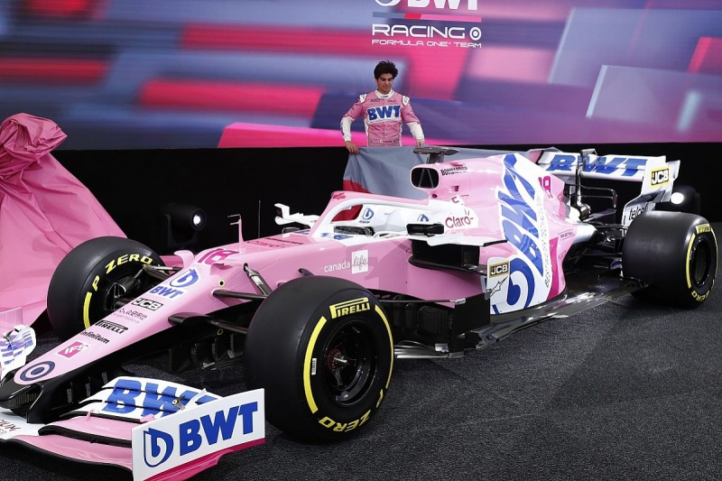 Racing Point gives reason for 2020 F1 title sponsor change