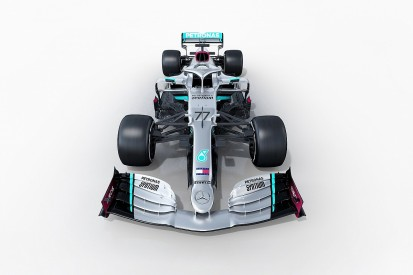 First images of 2020 Mercedes F1 car revealed
