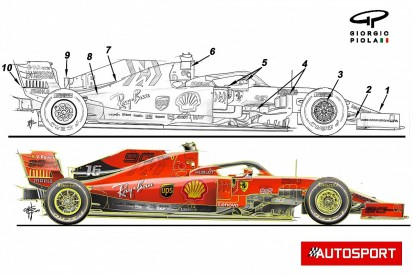 Piola: The key differences between Ferrari's 2019 and 2020 F1 cars