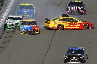 "Keselowski blasts team-mate Logano's ""dumb racing"" in NASCAR Clash"