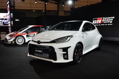 Toyota begins testing with 2021 GR Yaris WRC contender