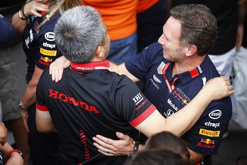 Red Bull buoyed by Honda off-season Formula 1 engine progress