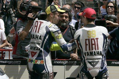 """Rossi """"pushed a lot"""" for Yamaha MotoGP team to sign ex-rival Lorenzo"""