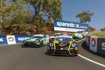 Crashes take toll on Bathurst 12 Hour field