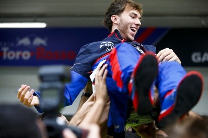"""Red Bull backs Gasly to be """"great"""" after post-demotion F1 2019 revival"""