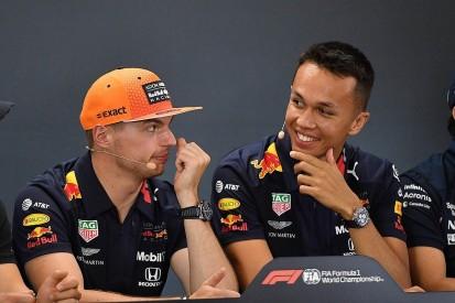 "Albon has ""same virtues"" as F1 team-mate Verstappen under pressure"