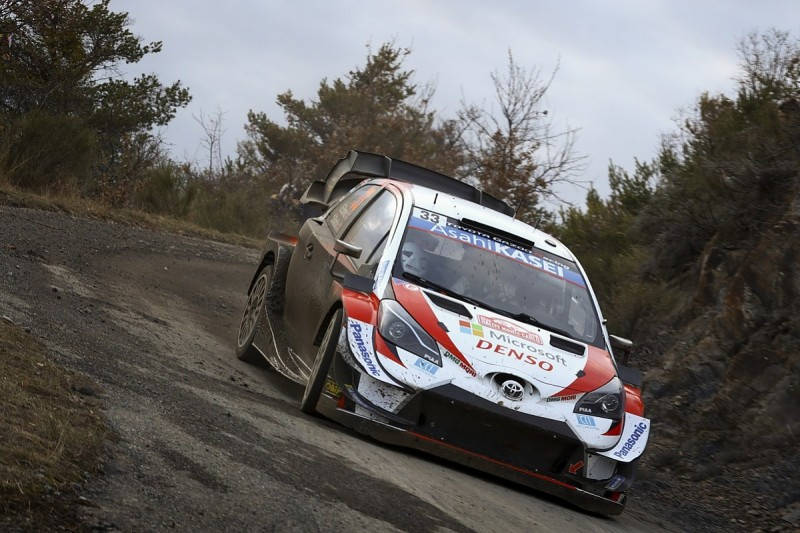 Monte Carlo Rally WRC: 6.4s covers top three but Evans holds lead
