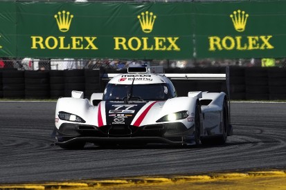 Daytona 24 Hours: #77 Mazda converts pole into lead after two hours