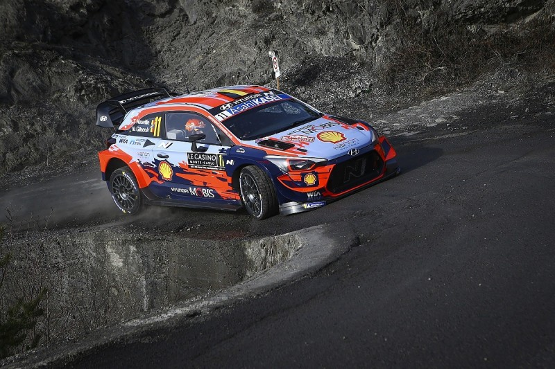Rally Monte Carlo WRC: Neuville retakes lead from Evans