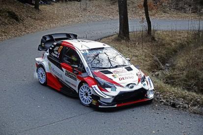Monte Carlo Rally WRC: Ogier edges ahead of Toyota team-mate Evans