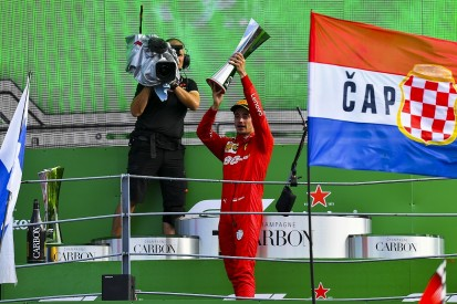 Leclerc: Standing on Monza podium as Ferrari winner gave me chills