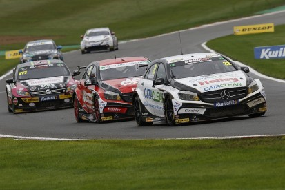 Ciceley BTCC squad Ciceley reworking Mercedes, retains line-up