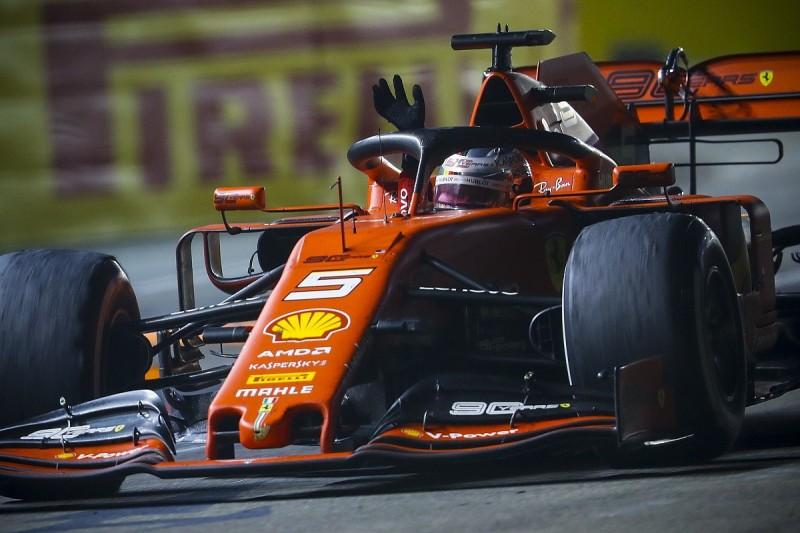 Ferrari: Letting Vettel win F1's Singapore Grand Prix was key