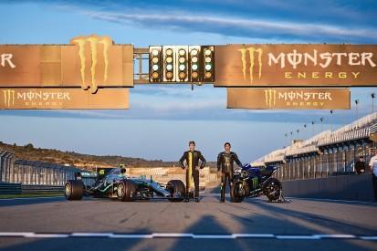 Video: Watch Hamilton, Rossi swap their F1/MotoGP machines