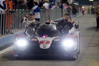 Toyota eases to Bahrain WEC win after woe for rivals