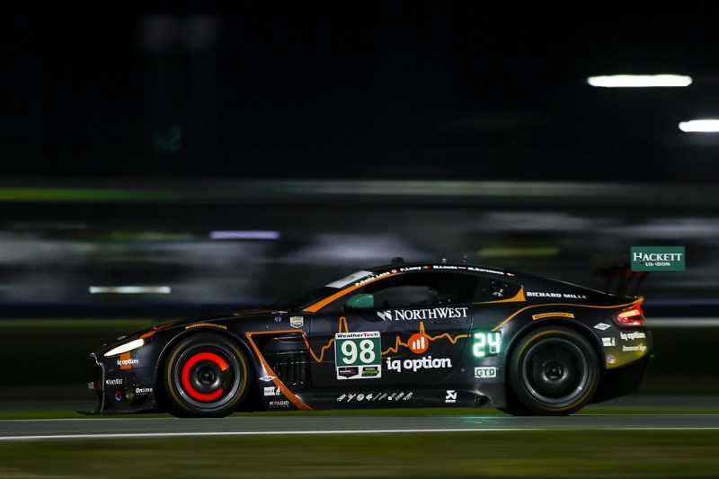 Aston Martin Enters First Factory Car At Daytona 24 Hours Since 17