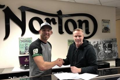 Smiths Racing to run Hickman's Norton Lightweight TT bike