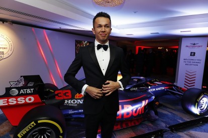 Red Bull F1 star Albon wins Rookie of the Year
