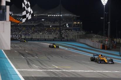 Sainz: Last-lap Hulkenberg Abu Dhabi pass like F1 title on line
