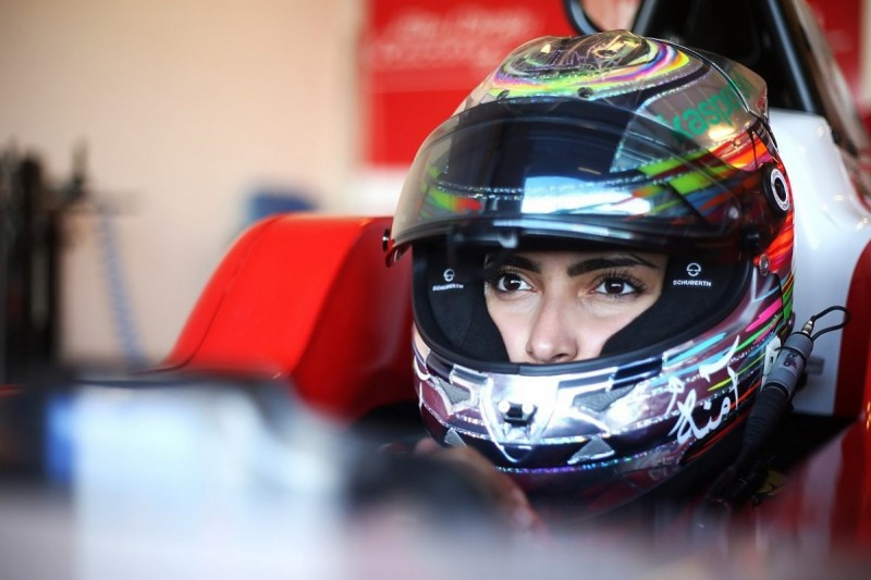 Female UAE F4 racer wins F1 Abu Dhabi support race
