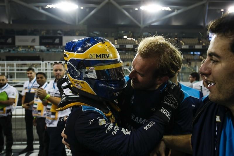 Sette Camara wins Abu Dhabi Formula 2 opener, DAMS takes teams' title