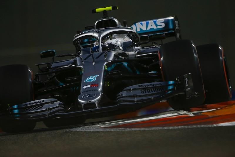 Abu Dhabi GP: Bottas leads Mercedes 1-2, but clashes with Grosjean