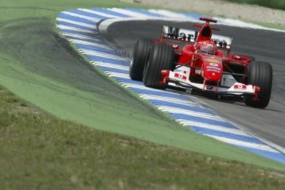 Mick Schumacher to demo father's F2004 Ferrari at German GP
