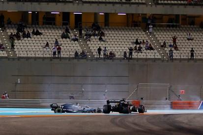 Bottas reprimanded for Grosjean crash in F1 Abu Dhabi GP practice