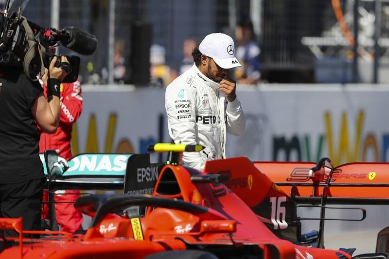 Hamilton given Austrian GP grid drop for Raikkonen qualifying block