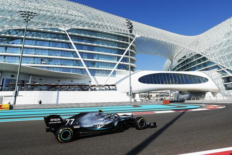 Abu Dhabi GP: Bottas heads Verstappen in FP1, Vettel crashes late on
