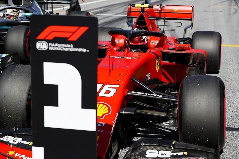 Leclerc: New Ferrari F1 set-up philosophy boosted Austria pole lap