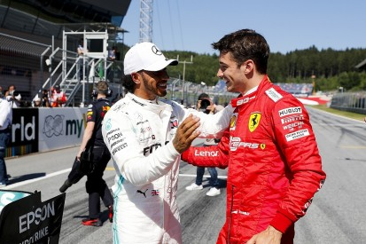 "Hamilton: Mercedes ""definitely underestimated"" Ferrari Austria pace"