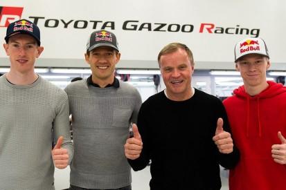 Toyota reveals Ogier, Evans, Rovanpera in three-car '20 WRC line-up