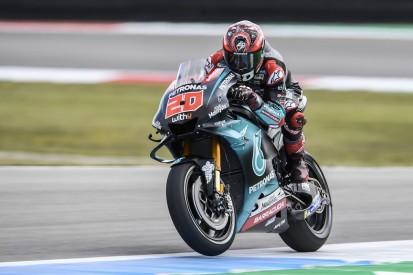 Quartararo tops Dutch MotoGP FP1 as Lorenzo crashes