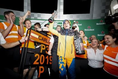 McLaren's Sainz: Brazilian GP was definitely best race of my career