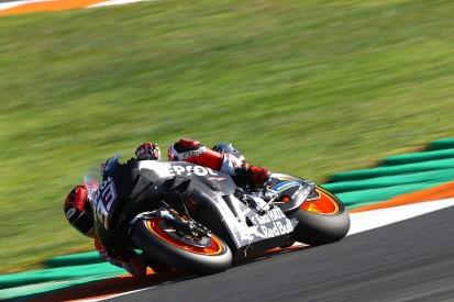 "Marquez left puzzled by ""strange"" Valencia MotoGP test crash"