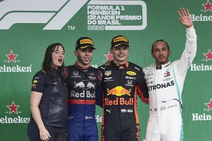 """Hamilton, Verstappen praise """"incredible"""" Gasly podium"""