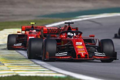 Ferrari drivers called to F1 stewards over Brazilian GP collision