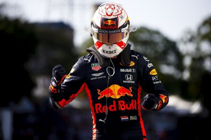 Brazilian Grand Prix: Max Verstappen puts Red Bull-Honda on pole