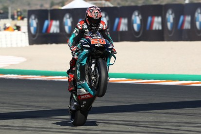 Valencia MotoGP: Quartararo heads Marquez in Saturday practice