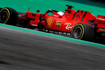 Brazilian Grand Prix practice: Sebastian Vettel leads Ferrari 1-2
