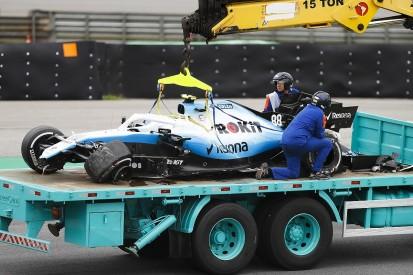 Kubica: Spray from Magnussen hitting kerb caused Brazil crash
