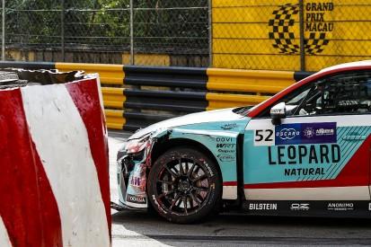 Macau WTCR: Shedden's WRT Audi withdrawn after qualifying crash