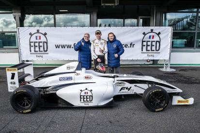 Dutch ace gets British F4 season with Villeneuve-backed prize