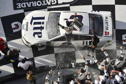 Team Penske's Brad Keselowski wins NASCAR's Daytona Clash from last